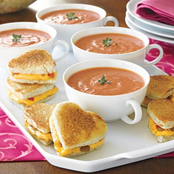 Image for Mini Grilled- Cheese Hearts