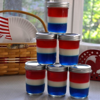 Image for Patriotic Jello Jars