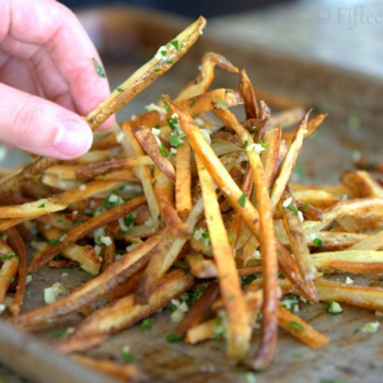 Image for Crispy Baked Garlic Fries