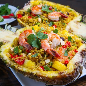 Image for Pineapple and Shrimp Fried Quinoa