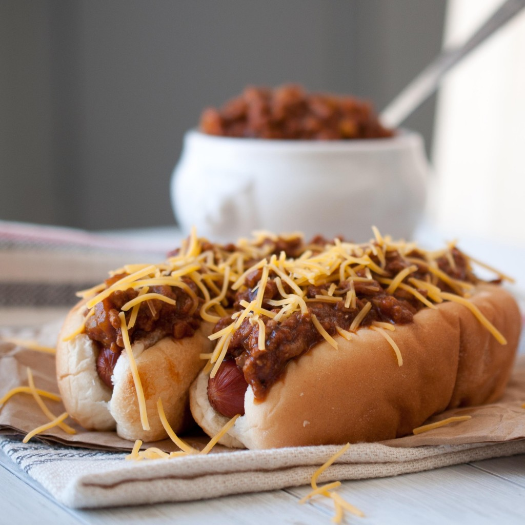 Image for Beer Chili & Cheese Dogs