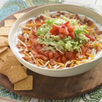 Image for Creamy Layered BLT Dip