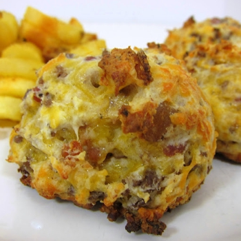 Image for Football Friday - Bacon Cheeseburger Puffs
