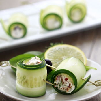 Image for Cucumber Feta Rolls