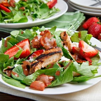 Image for Strawberry and Balsamic Grilled Chicken Salad