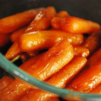 Image for Roasted Balsamic Glazed Carrots Recipe