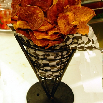 Image for Weight Watchers Baked Sweet Potato Chips Recipe