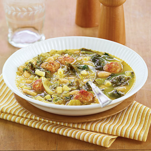 Pasta With Italian Chicken Sausage, Peppers And Escarole Recipes ...