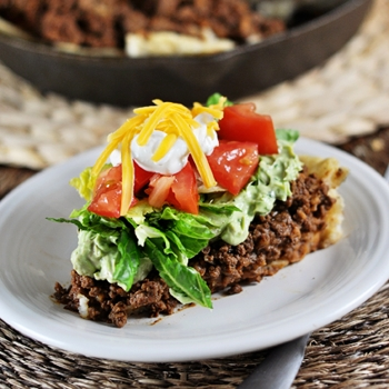 Image for Skillet Taco Pie