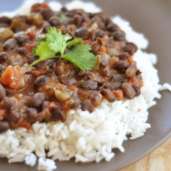 Image for Classic and Simple: Black Beans and Rice