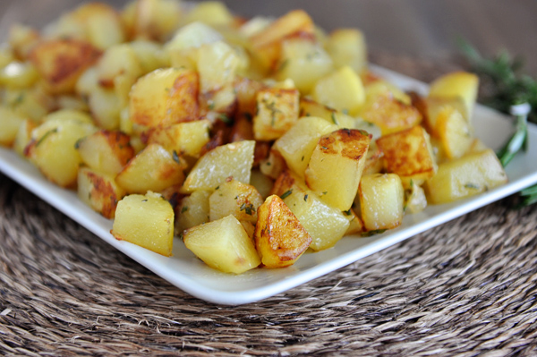 Golden Skillet Potatoes
