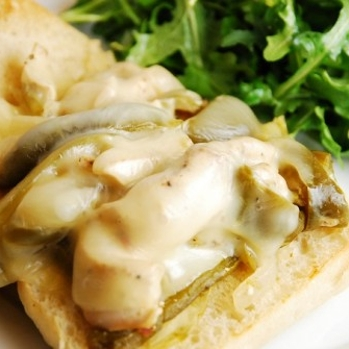 Crock Pot Chicken Philly Cheese Steak