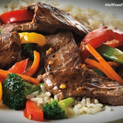 Asian Beef and Vegetable Stir Fry