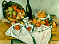 Wouldn't Paul Cezanne's Basekt of Apples make a great lcd tv screensaver?