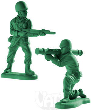 Giant Army Men Erasers