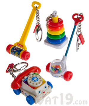Fisher Price Keychains