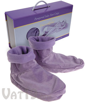 Foot Cozy Heated Slippers