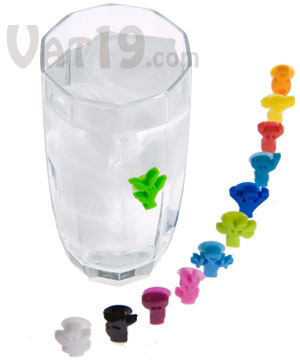Suction Cup Glass & Wine Markers