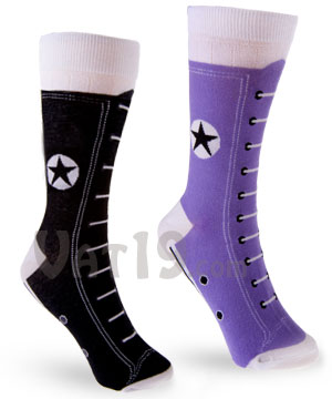 Hightop Sneaker Socks