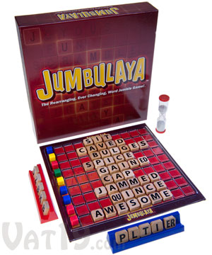 Jumbulaya Word Jumble Game