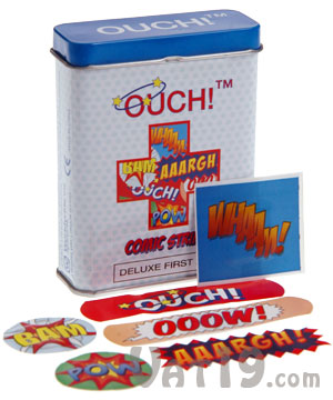 Ouch! Comic Strip Bandages