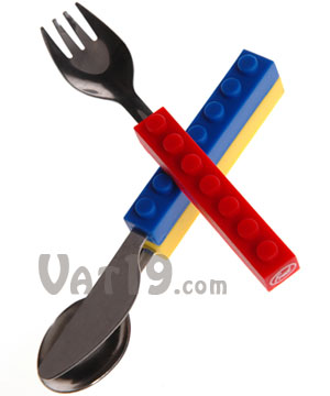 Snack and Stack Utensil Set