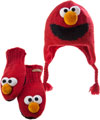Sesame Street Hats and Mittens - Kids