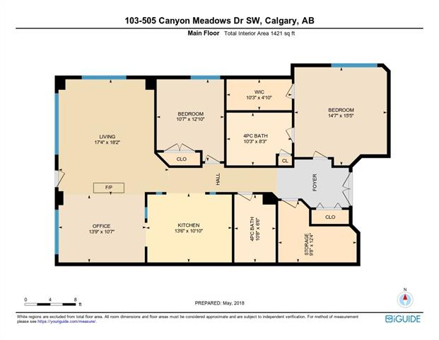 #103 505 CANYON MEADOWS DR SW - MLS® # C4233026