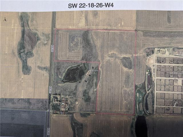 Ptn of SW 22-18-26-W4   - MLS® # C4283023