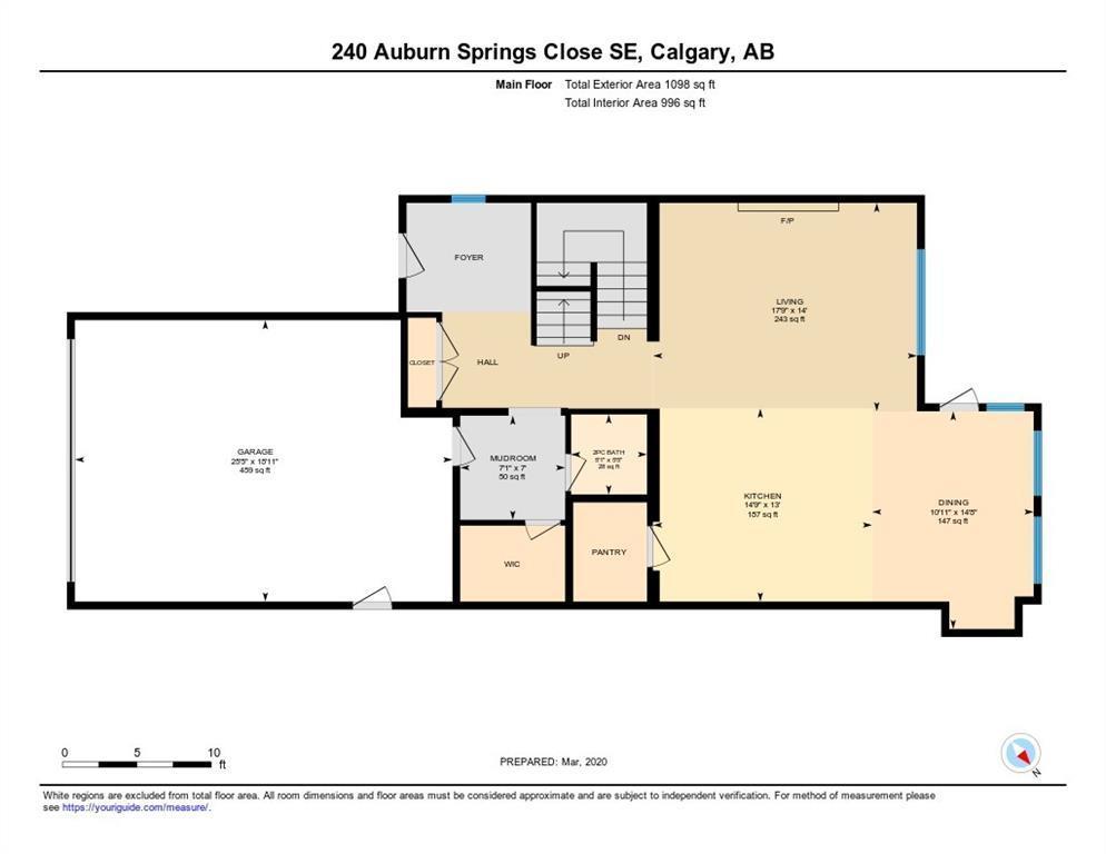 240 Auburn Springs CL SE - MLS® # C4297821