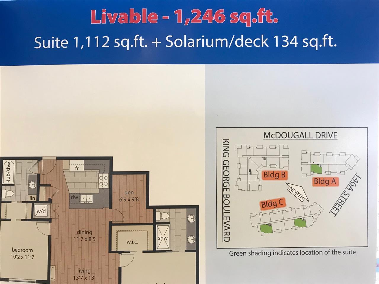 302 3535 146A STREET - MLS® # R2375221