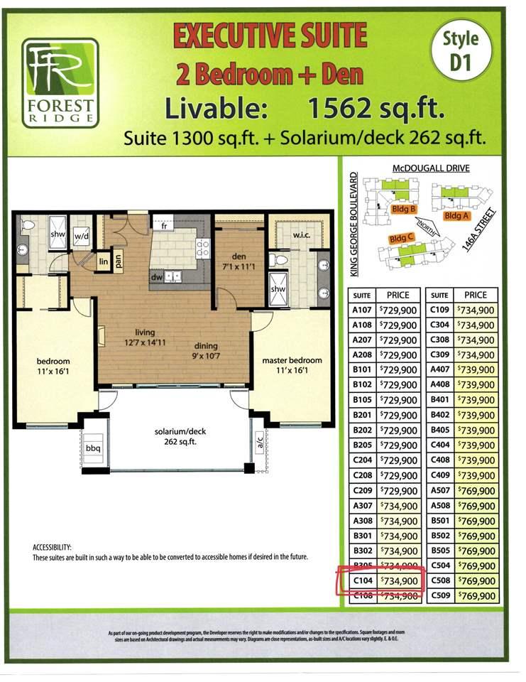 104 3535 146A STREET - MLS® # R2439943