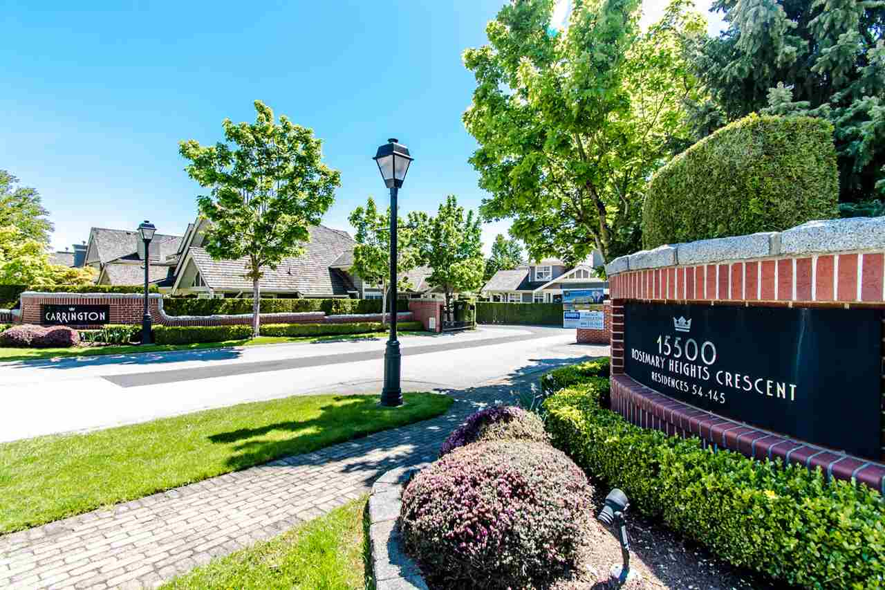 106 15500 ROSEMARY HEIGHTS CRESCENT - MLS® # R2442443
