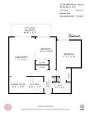 305 1360 MARTIN STREET - MLS® # R2506759