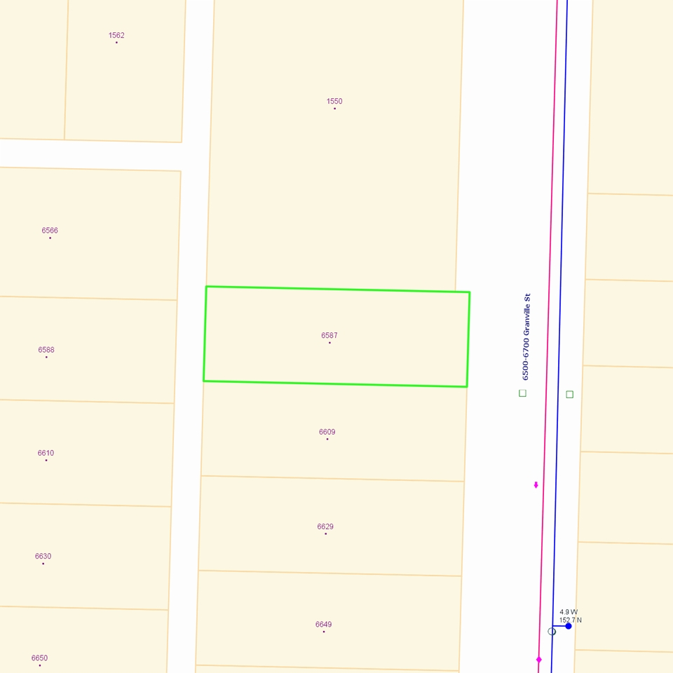 6587 GRANVILLE STREET - MLS® # R2337418