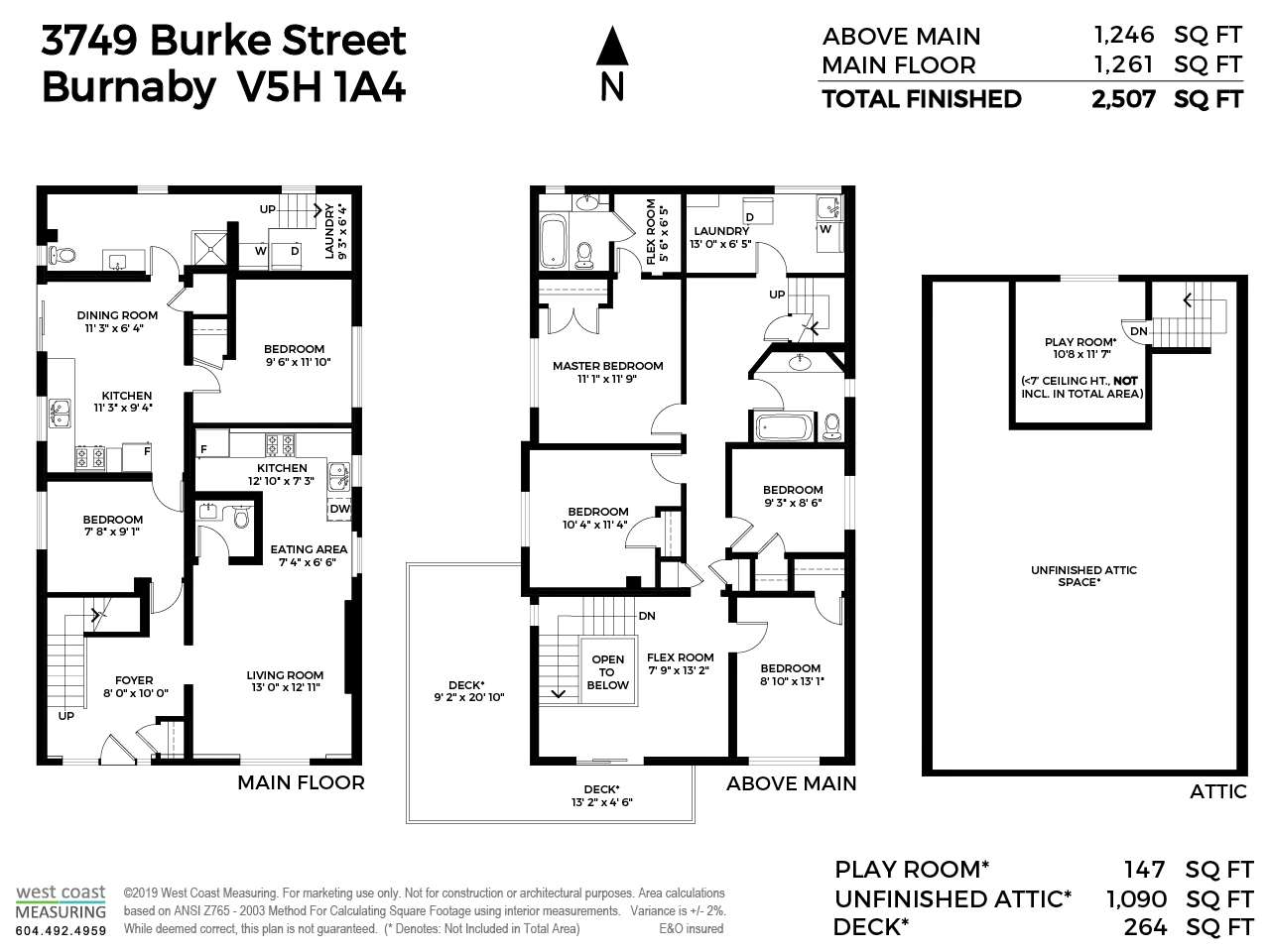 3749 BURKE STREET - MLS® # R2405401