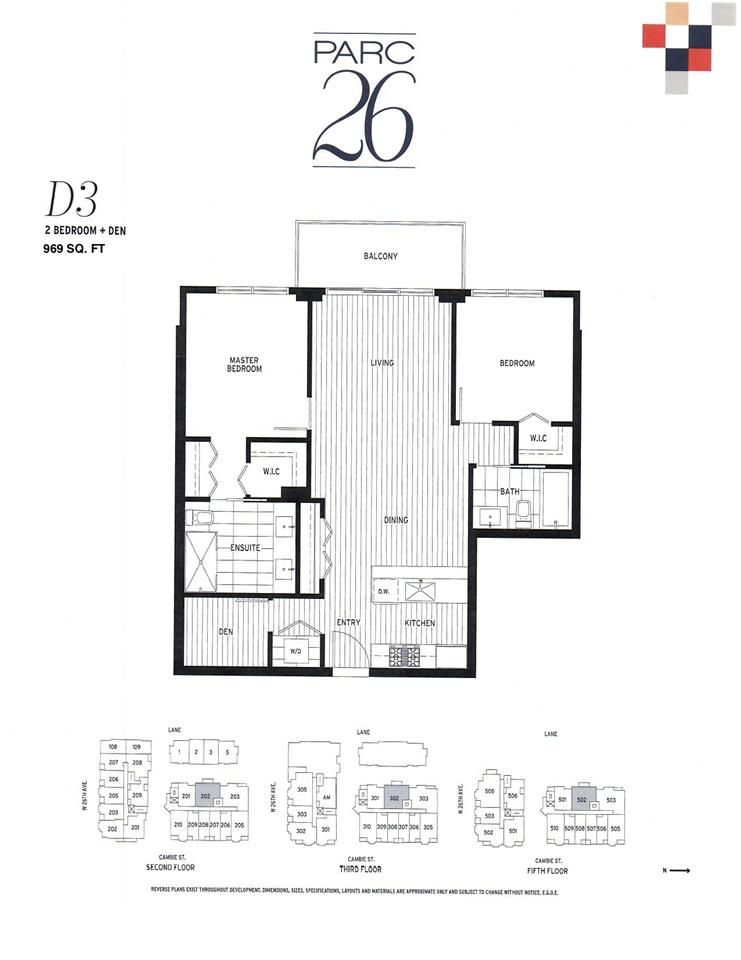 302 4171 CAMBIE STREET - MLS® # R2409454