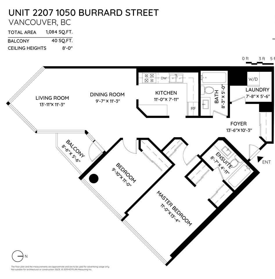 2207 1050 BURRARD STREET - MLS® # R2409714