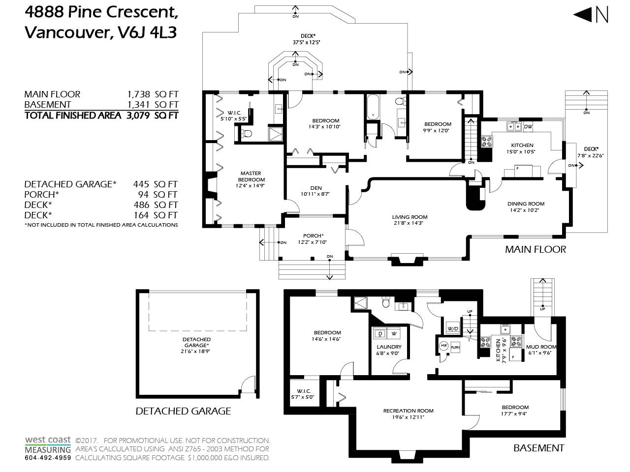 4888 PINE CRESCENT - MLS® # R2413385