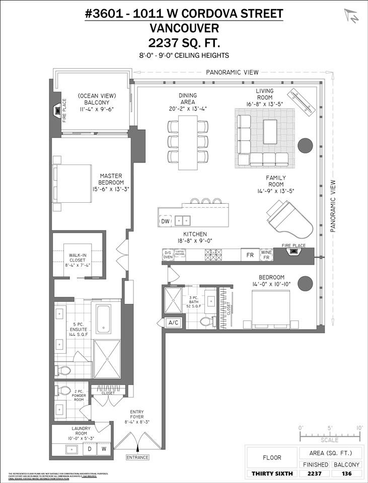3601 1011 W CORDOVA STREET - MLS® # R2416154