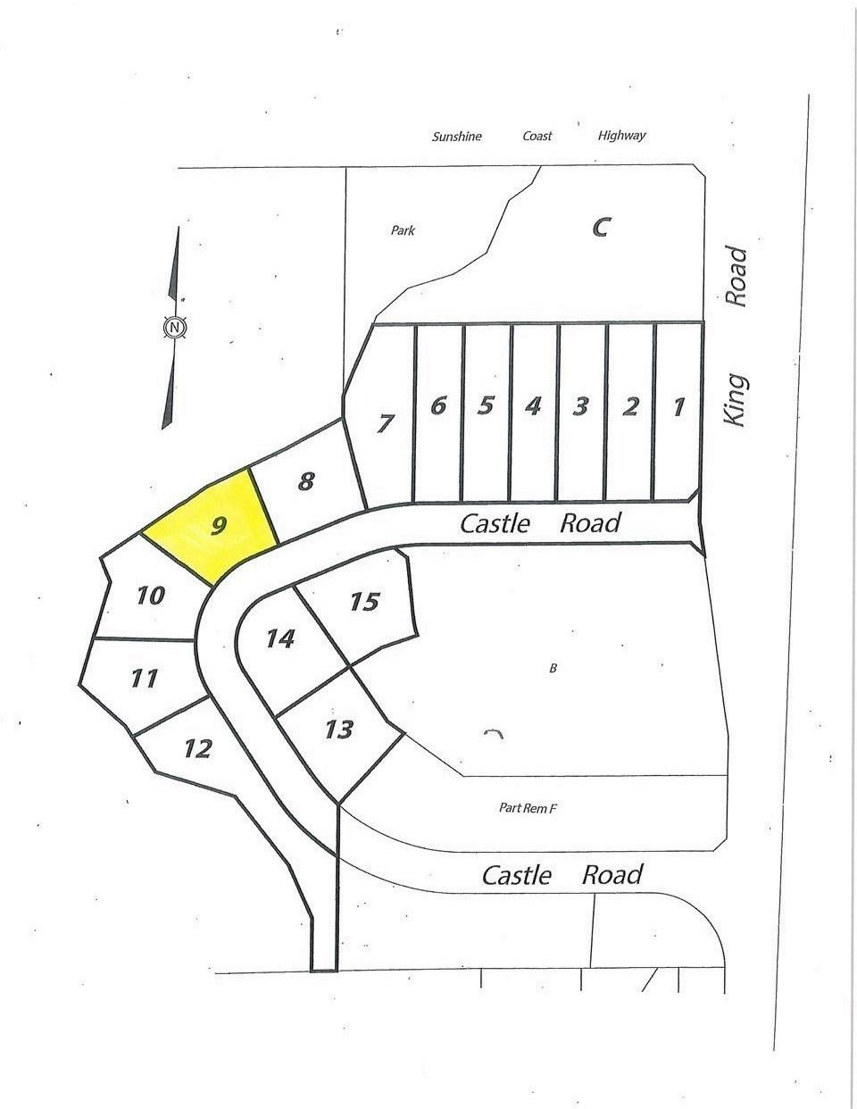 LOT 9 CASTLE ROAD - MLS® # R2422418