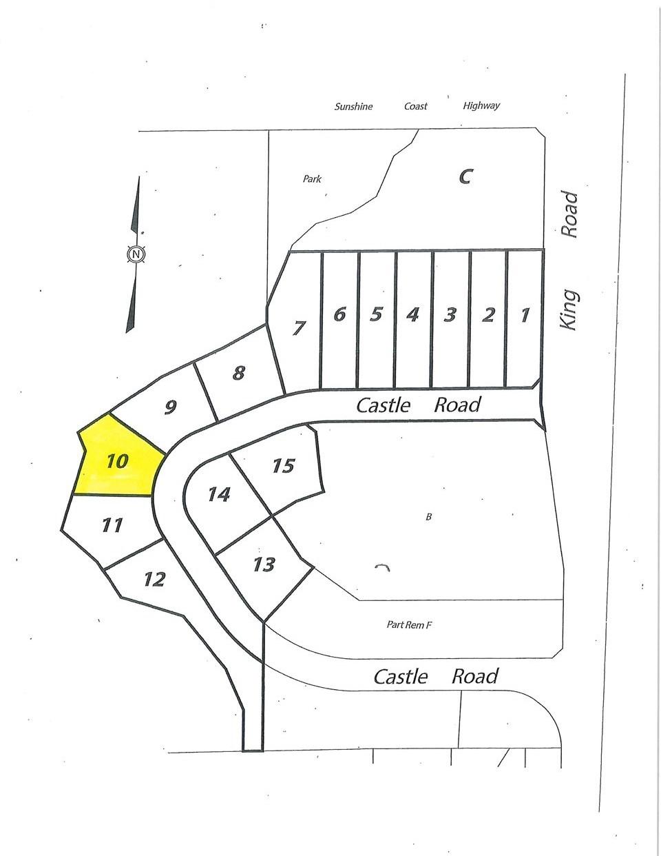LOT 10 CASTLE ROAD - MLS® # R2422438