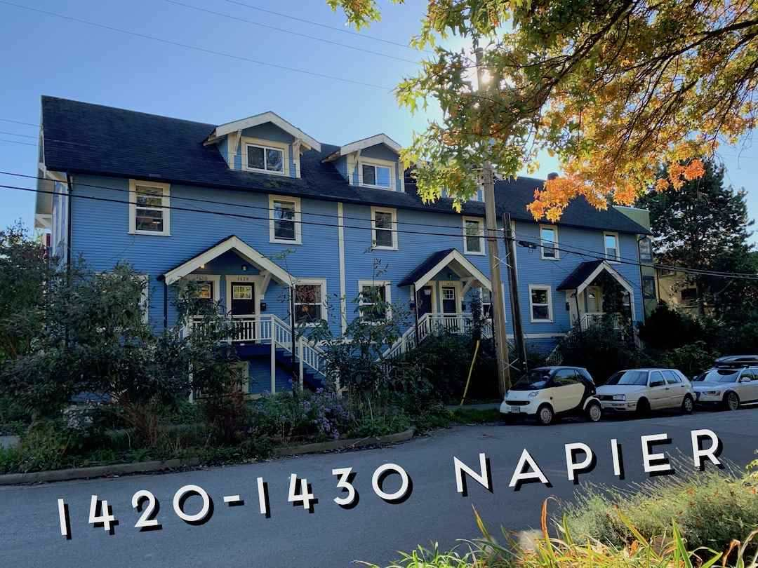 1420 NAPIER STREET - MLS® # R2430085