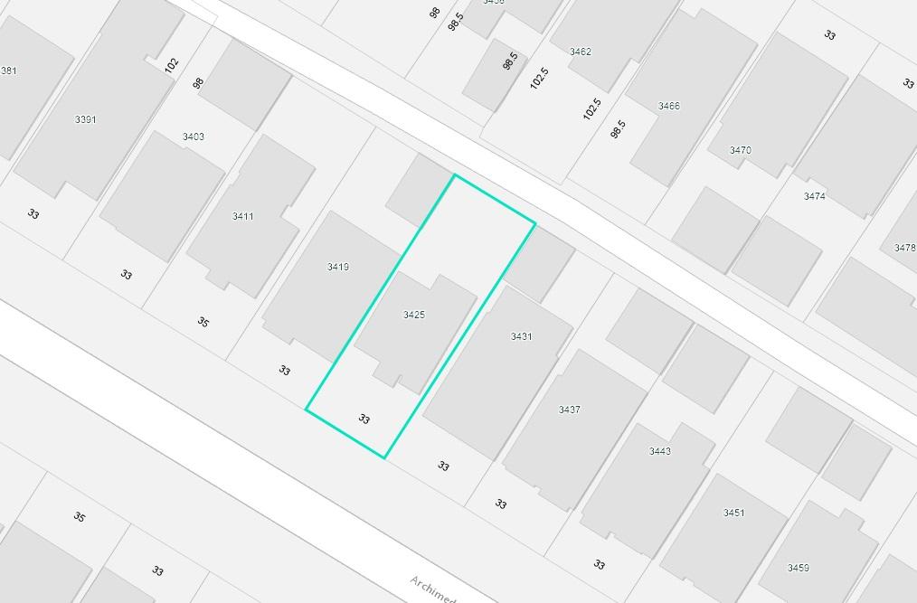 3425 ARCHIMEDES STREET - MLS® # R2435692