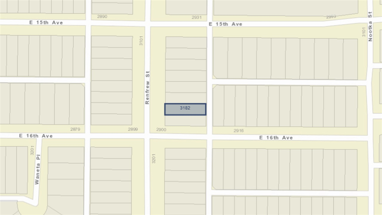 3182 RENFREW STREET - MLS® # R2437070