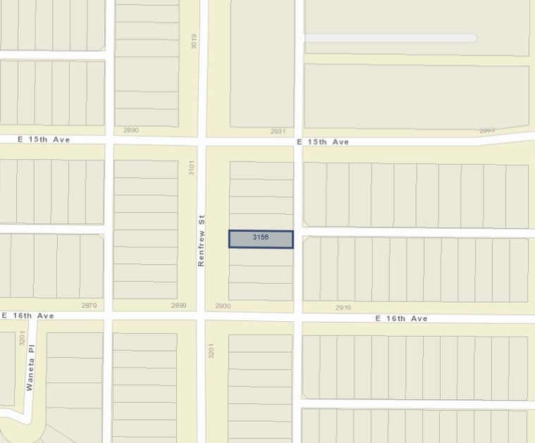 3156 RENFREW STREET - MLS® # R2437110