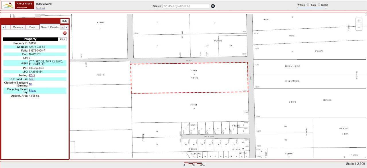 12377 248 STREET - MLS® # R2440668