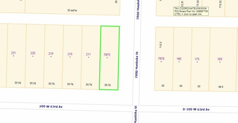 7875 MANITOBA STREET - MLS® # R2445430