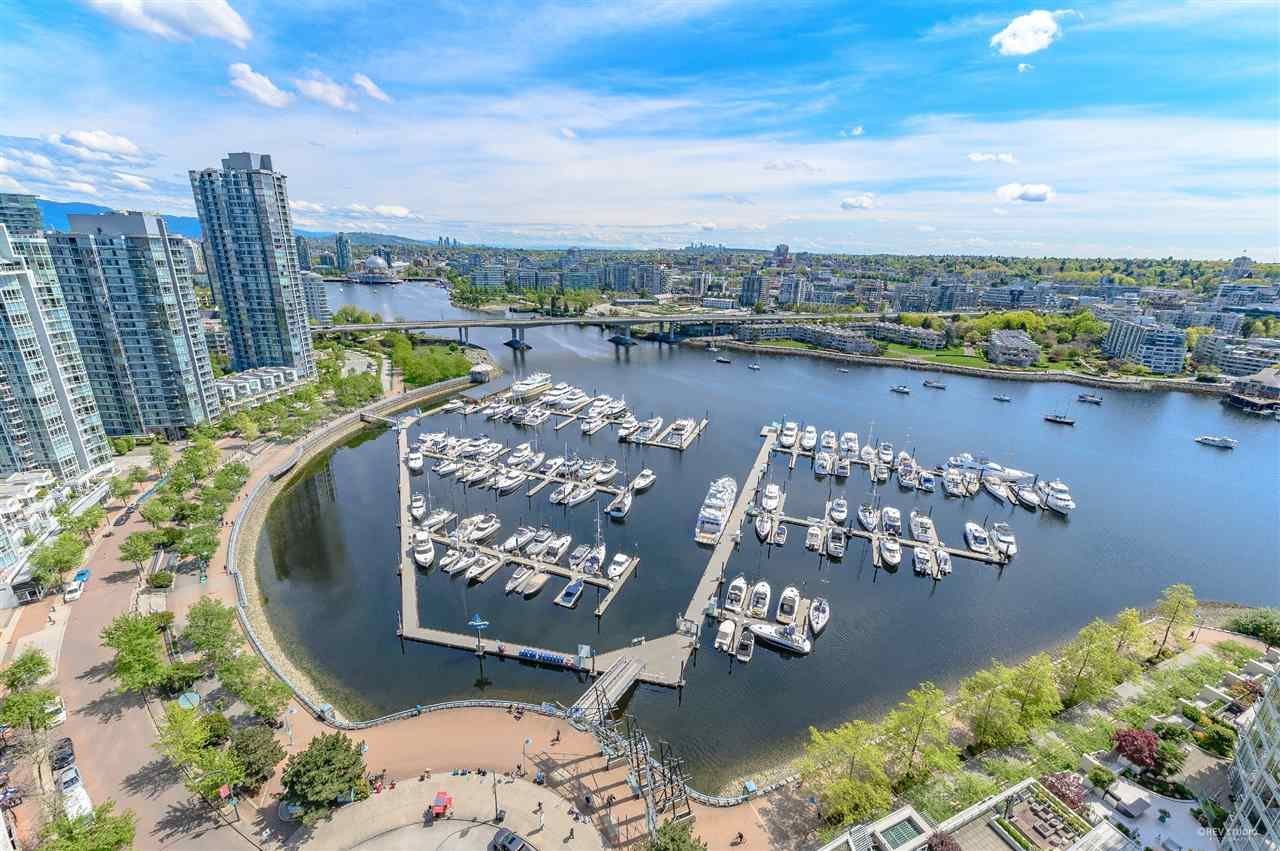 2805 1201 MARINASIDE CRESCENT - MLS® # R2448591