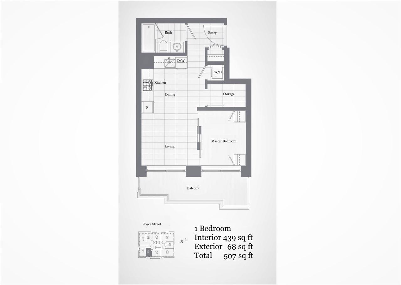 1505 5058 JOYCE STREET - MLS® # R2454412